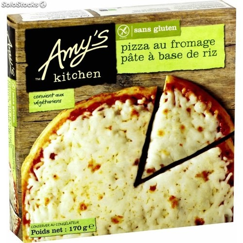 pizza au fromage sans gluten amy s kitchen. Black Bedroom Furniture Sets. Home Design Ideas