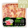 Pizza Jamon York Y Queso 0,5 Kg.