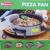 Pizza pan electrico maxell power mp-36XL 7CM hondo 36CM diametro