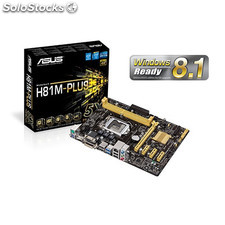 Placa base 1150 asus H81M-plus matx-dvi-USB3-hdmi