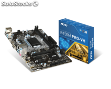 Placa base 1151 msi B150M pro-vh matx-DDR4-hdmi-USB3.1