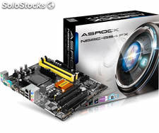 Placa base AM3+ asrock N68C-GS4 fx R2.0 matx-USB2-DDR3