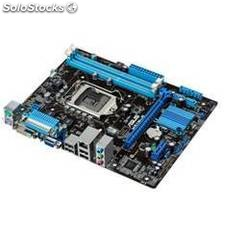 Placa base asus intel h61m-g socket 1155 ddr3x2 1600mhz 16gb dvi matx