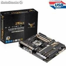 Placa base asus intel sabertooth z97 mark 1 socket 1150 ddr3x4 1866mhz 32gb hdmi
