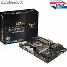 Placa base asus intel sabertooth z97 mark 2 socket 1150 ddr3x4 1866mhz 32gb hdmi