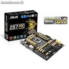 Placa base asus intel z87-pro(vedition) socket 1150 ddr3x4 1600mhz 32gb hdmi atx