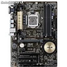 Placa base asus intel z97-k socket 1150 ddr3x4 1600mhz 32gb hdmi atx