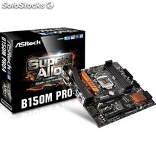Placa base intel asrock B150M Pro4 mATX socket LGA1151