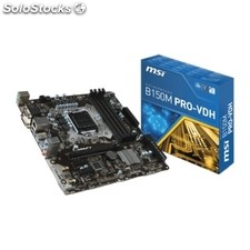 Placa base Intel msi B150M pro-vdh mATX socket LGA1151