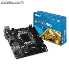Placa base Intel msi H110I Pro miniITX socket LGA1151