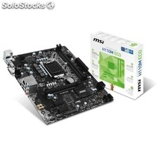 Placa base Intel msi H110M eco mATX socket LGA1151
