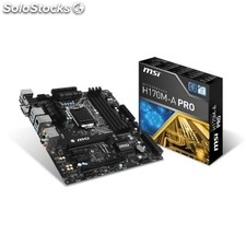 Placa base Intel msi H170M-a pro atx socket LGA1151