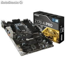 Placa base intel msi Z170-a pro atx socket LGA1151