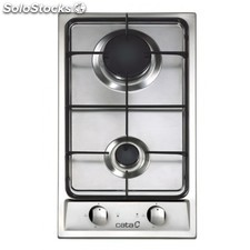 Placa Cata GI 302 r.8039311 inox But/Nat 29cm ancho