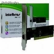 Placa De Rede Interbras Pef 132 Pci