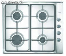 Placa independi a gas teka e/60.3 4G al but 60CM.inox,4 zonas
