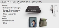 Placa Inducción cata can roca rocook bk Kit Essential