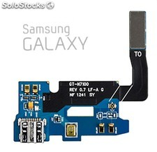 placa micro usb + cable flex samsung galaxy note 2 n7100 rev.07 PEC03-4410