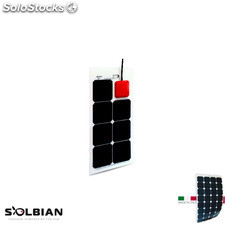 Placa Solar Flexible Solbian sp 23 allinone con Regulador de Carga mppt