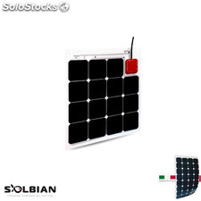 Placa Solar Flexible Solbian sp 47Q allinone con Regulador de Carga mppt