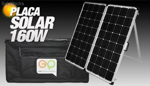Placa Solar Port 225 Til Plegable Doble Panel 160w