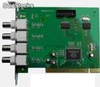Placa Techwell 4 canales de Video - 50/60 ips pal/ntsc