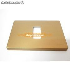 placca bticino magic bronzo 1 posto