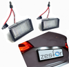 Plafones LED de matrícula Mercedes-Benz Clase ML W164 (2005-2011)