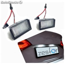 Plafones Led De Matrícula Mercedes-benz Clase Ml W164 (2005-2011) - Zesfor