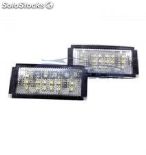 Plafones LED de matrícula Mini Cooper (2001-2006)