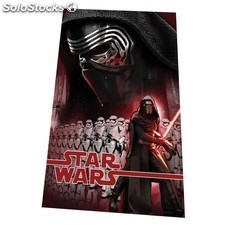 Plaid 150 x 100cm star wars - Rouge