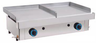 Plancha de asar a gas doble 820 mm