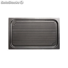 Plancha Grill antiadherente GN 1/1