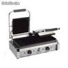 Plancha grill eléctrica GE2B doble. Ref. 212