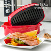 Plancha-Grill para Microondas Fast & Easy Cooker - Foto 1