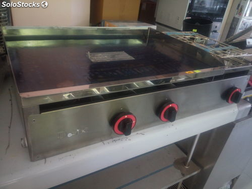 Plancha industrial a gas nueva dosilet evo plus800hf for Plancha industrial