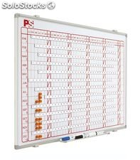 Planning magnetico mensual 60x120 cm planning