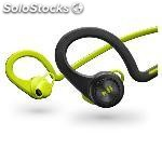Plantronics auricular back beat fit verde biaural bluetooth 200460-05