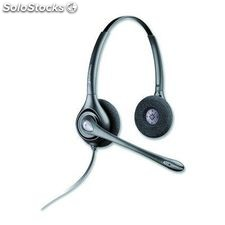 Plantronics auriculares cable hw261n/a biaural 36834-41