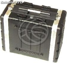 "Plastic Flight Case 8U rack 19"" de RackMatic (MC64-0002)"