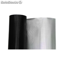 Plastico reflectante diamond//negro 30 m