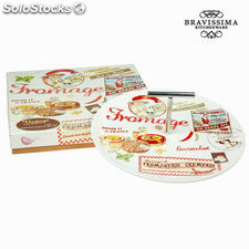 Plato para queso fromage - Colección Kitchen's Deco by Bravissima Kitchen