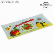Plato rectangular fruits - Colección Kitchen's Deco by Bravissima Kitchen