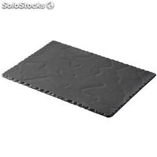 Platos rectangulares revol basalt 300 x 200mm
