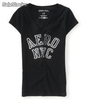 Playera Aéropostale Aero nyc v-Neck Graphic t