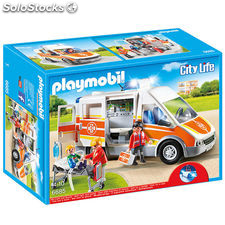 Playmobil - Ambulancia con luces y sonido (66850)