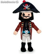 Playmobil wave capitán pirata - 30CM - play by play - playmobil - 8425611359415
