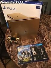 Playstation 4 Slim Console 1TB Gold Novo: WhatsApp: +1 (628)500-4884