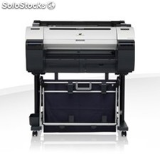 "Plotter canon IPF670 A1 24""/ 2400PPP/ usb/ red/ DISE�o cad/ pedestal"