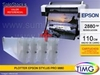 Plotter Epson Stylus Pro 9880 + Cartuchos Recargables Tinta Ultra Chrome (Set de 8 cartuchos con tinta incluida)